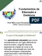 Fundamentos Da Educação a Distância - UFRGS