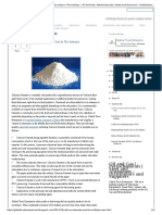 Calcium Stearate and Its Multiple Uses in the Industry