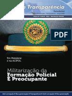 News Letter Acipol Edicao-10!15!05-2016 Militarização Da Polícia