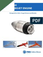 PBS Turbojet-Engine TJ150- En