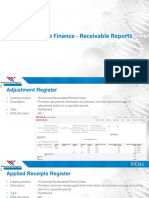 R13 – Oracle Finance – Receivables