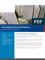 Gas Turbine Failure Analysis