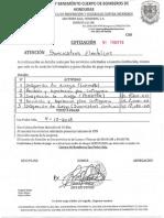 Cotizacion Cuerpo de Bomberos Luzmetal Spss y Postelsa 2018