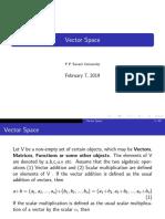 Vector Space