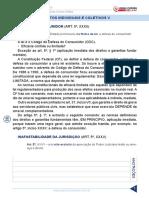 Direito Constitucional 2018 Aula 08 Direitos Individuais e Coletivos V