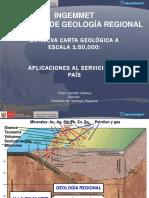 carta geologica sus aplicaciones