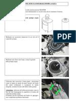 Piaggio BV 500 E3 - Water Pump Integral Seal Replacement