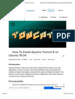 How to Install Apache Tomcat 8 on Ubuntu 16