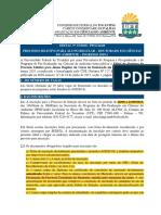 Edital 15-2018 PPGCiamb Abertura Processo Seletivo Aluno Regular Doutorado 2019