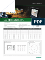 Led reflector jeta2