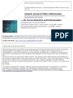 PS_IJPA_Public Service Motivation and Professionalism