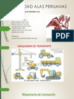 maquinaria de transporte pesado