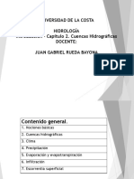 Capítulo 2 Hidrología Juan Rueda