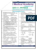 Day-11 Physics Assignment-em Waves