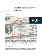 Jame Grant - Barron's Article BONDS - 02-01-19