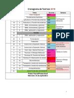 0 Cronograma biologia celular
