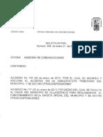 Acuerdo No 116 de 29 de Enero de 2011 (1) (1)