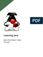 Learning Java by Min Lwin