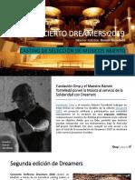 Concierto Dreamer 2019 - Casting Músicos Abierto