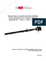 Manual Sustitucion Cableado Inyectores Arl BhEaN ClubSeatLeon