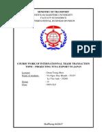 Kế hoạch kinh doanh xuất khẩu sang nhật bản.docx