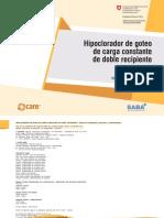 HIPOCLORADOR  DE GOTEO  DE CARGA  CONSTANTE  DE DOBLE  RECIPIENTE.docx
