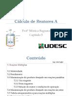 Reatores A - cap�tulo 5