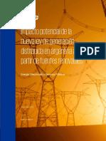 Posibles Impactos de La Ley de Energia Distribuida