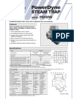 steam trap datasheet tlv type P65SRN