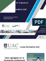 Sello Formativo UAC