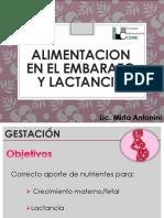 4° - ALUMNOS - EMBARAZO Y LACTANCIA - 12-4-19 - NUTRICION NORMAL - ENFERMERIA IUC