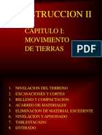 Movimiento de Tierras - 1