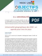 MOOC UVED ODD S2.1 Transcription Universalites