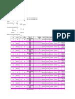 Hydraulic calculation for FF