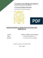 1er Informe de Ope2 - Portilla Barboza