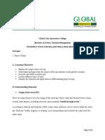 Report- Handout (Sample)