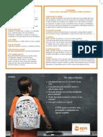 material de apoio para os pais e encarregados de educação
