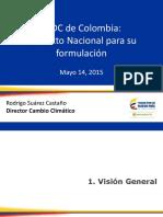 INDC de Colombia Contexto Nacional Para Su Formulación