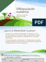 Diferenciacion NumericaNew (1)
