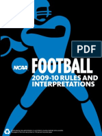 40531550 Ncaa Football Rules 2010