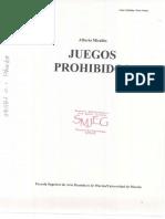 Alberto Miralles JUEGOS PROHIBIDOS