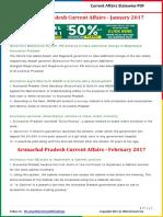 Arunachal Pradesh Current Affairs 2017 by AffairsCloud