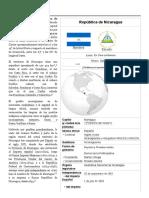 Nicaragua - Wikipedia, La Enciclopedia Libre