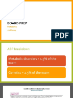 Board Prep Metabolics Feb 2019