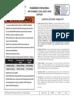 5//16-18 x .59 thd Kipp KHA-198 Threaded-Stud Zinc Adjustable Handle 2.56 Inch Long