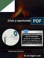 Crisis Oportunidad AYUNO IBE II Callao Abril 2019