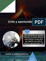 Crisis Oportunidad AYUNO IBE III Callao Abril 2019