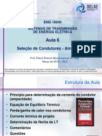 ENG 10040 - Aula 6 - Determinacao do Condutor - Ampacidade V5.1 - Mar 2019.pdf