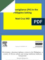 Pharmacovigilance in the Philippine Setting - NOEL CRUZ