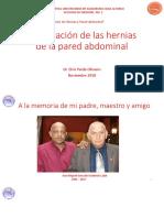 Clasificacion de Las Hernias de La Pared Abdominal
